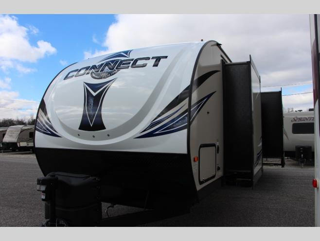 KZ Connect Travel Trailer Slide Outs