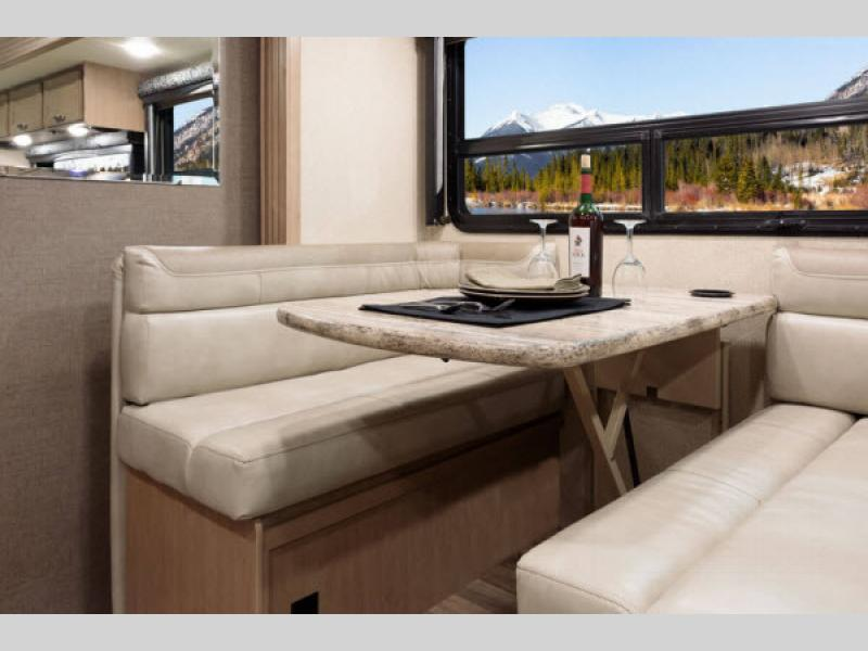 Thor Ace Class A Motorhome Dinette