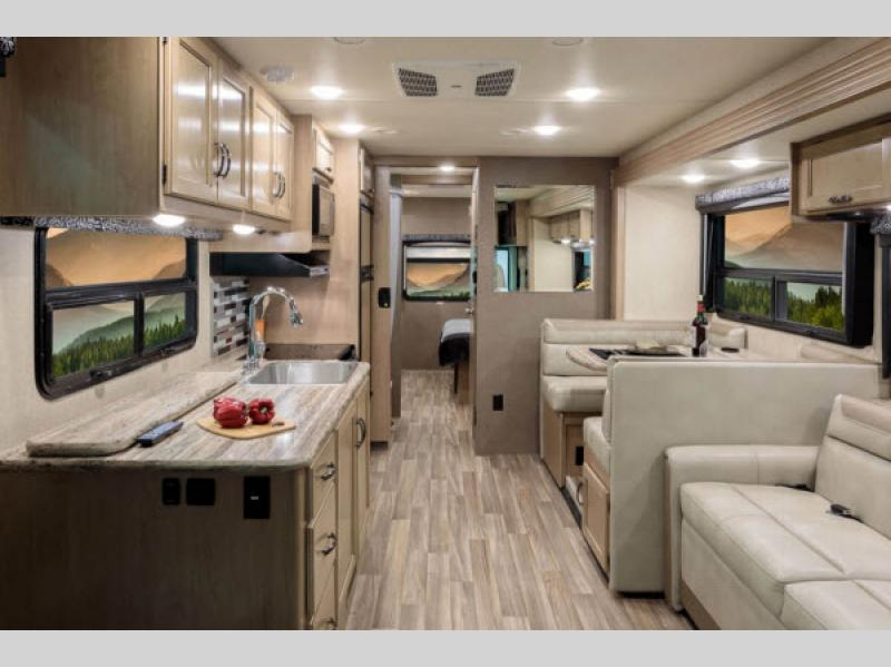 Charming Thor Ace Class A Motorhome Interior