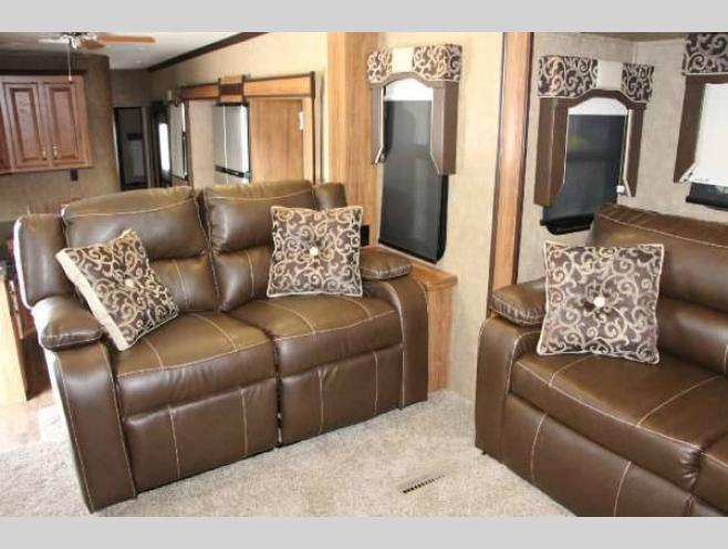 KZ Durango Gold Fifth Wheel Seating