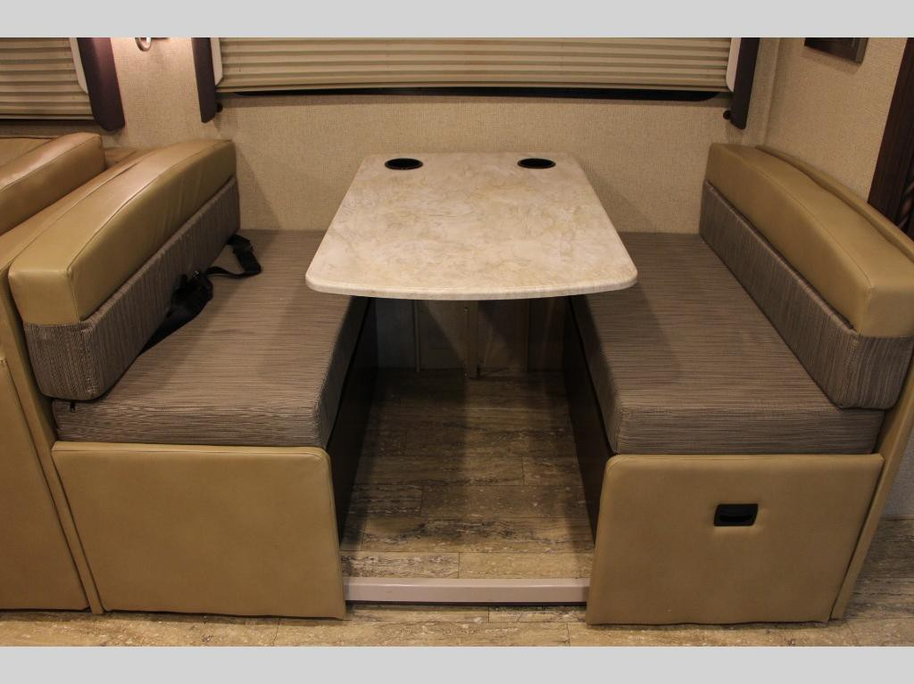 Thor Motor Coach Hurricane Seating Area