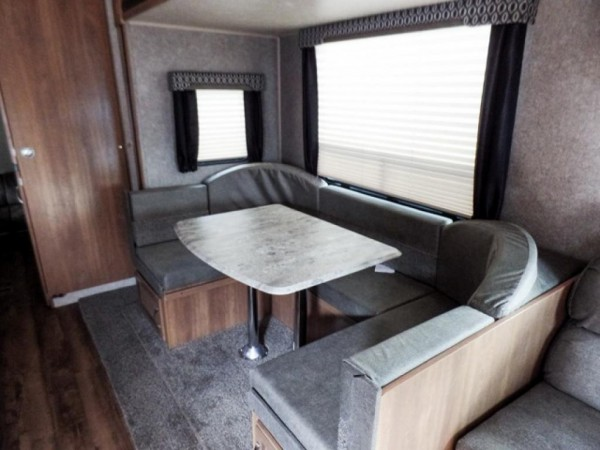 Catalina Legacy travel trailer interior dining area