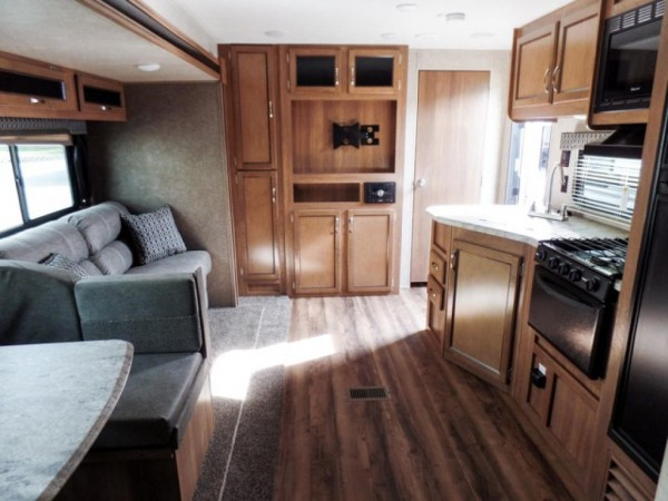 Coachmen RV Catalina SBX travel trailer interior